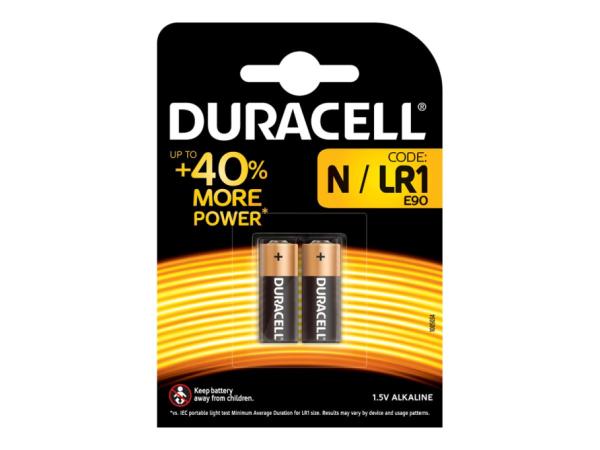 Duracell Security MN9100 - Batterie 2 x N - Alkalisch