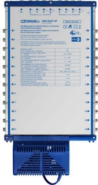 SPAUN - ELECTRONIC Spaun SMS 92407 NF - Blau - 7 W - 100?240V AC - 410 x 211 x 56 mm