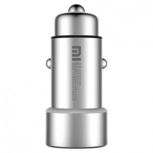 Xiaomi Mi car charger Silver - USB x 2