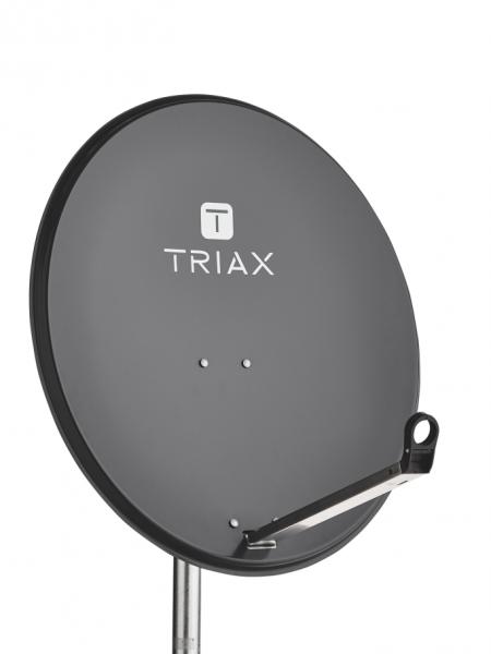 Triax TDS 80A - 10,7 - 12,75 GHz - 38,5 dBi - 36,5 dBi - Offset - 0 - 90° - 25,6°