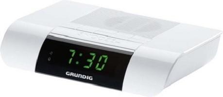 Grundig KSC35 - Radiouhr - weiß