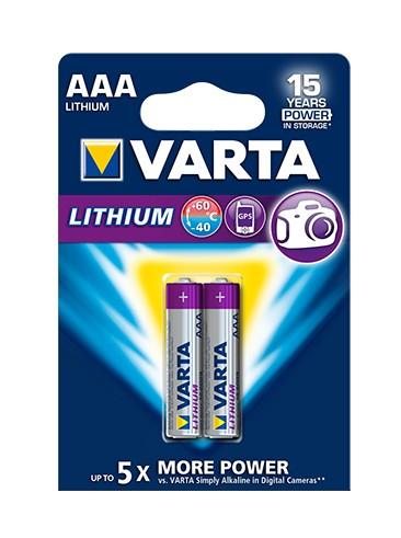 Varta Professional - Batterie 2 x AAA - Li