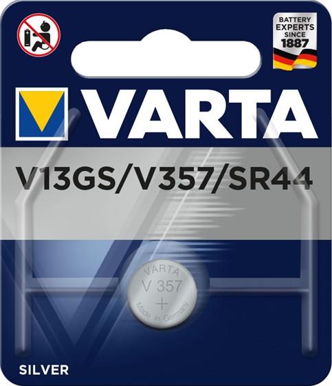 Varta V 13 GS/ V 357 - Batterie SR44 - Silberoxid