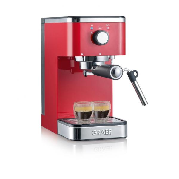 Graef Young ES403 - Kaffeemaschine mit Cappuccinatore