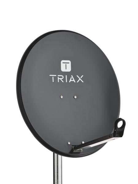 Triax TDS 65A - 10,7 - 12,75 GHz - 37 dBi - 34 dBi - Offset - 0 - 90° - 26°