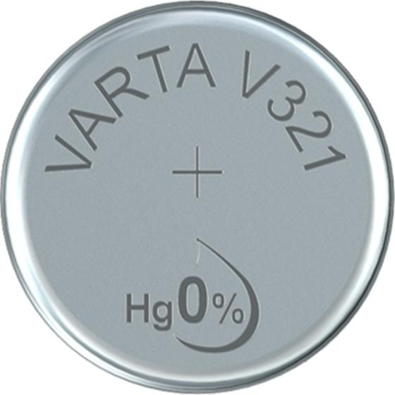 Varta V 321 - Batterie SR616SW - Zn/Ag2O - 14.5