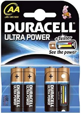 Duracell Ultra MX1500 - Batterie 4 x AA-Typ