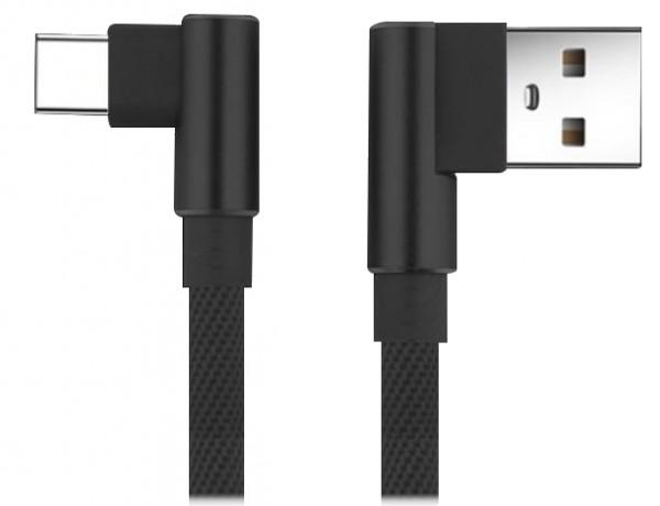 Bea-fon Felixx DC-90-TC - 1 m - USB A - USB C - USB 2.0 - Schwarz