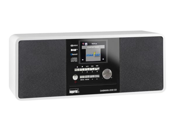 Telestar DABMAN i200 CD - Audiosystem - 20 Watt (Gesamt)