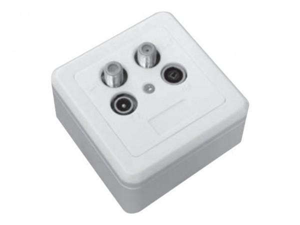 Triax GAD 274 - Ausgang - F-Stecker X 2, IEC-Anschluss