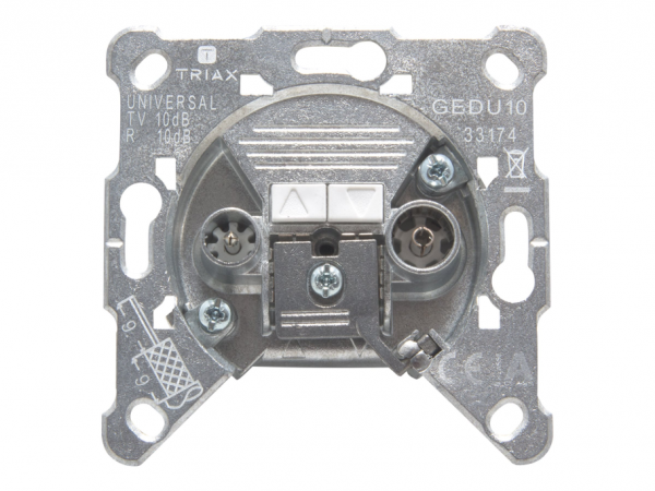 Triax GEDU 10 - Ausgang - IEC-Anschluss X 2