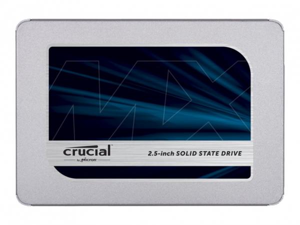 Crucial MX500 - 2 TB SSD - intern - 2.5 in (6.4 cm)