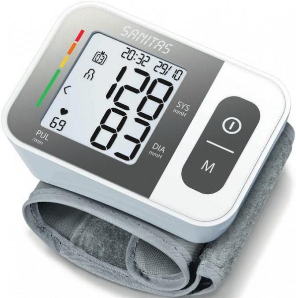 Sanitas SBC 15 - Handgelenk - Automatisch - Grau - Weiß - 2 Benutzer - 14 - 19,5 cm - mmHg