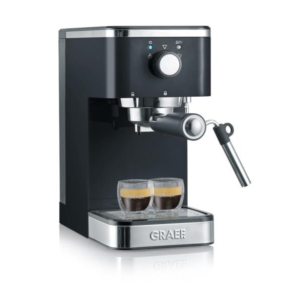Graef Young ES402 - Kaffeemaschine mit Cappuccinatore