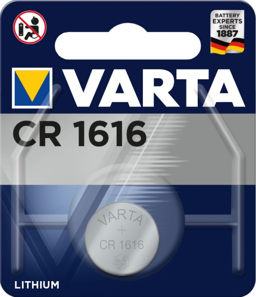 Varta Electronics - Batterie CR1616 - Li - 55
