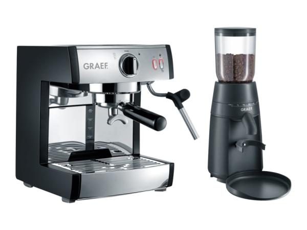Graef pivalla - Kaffeemaschine mit Cappuccinatore