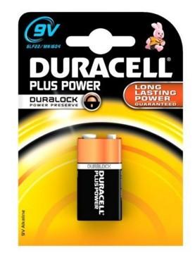 Duracell Plus Power - Batterie 9V - Alkalisch