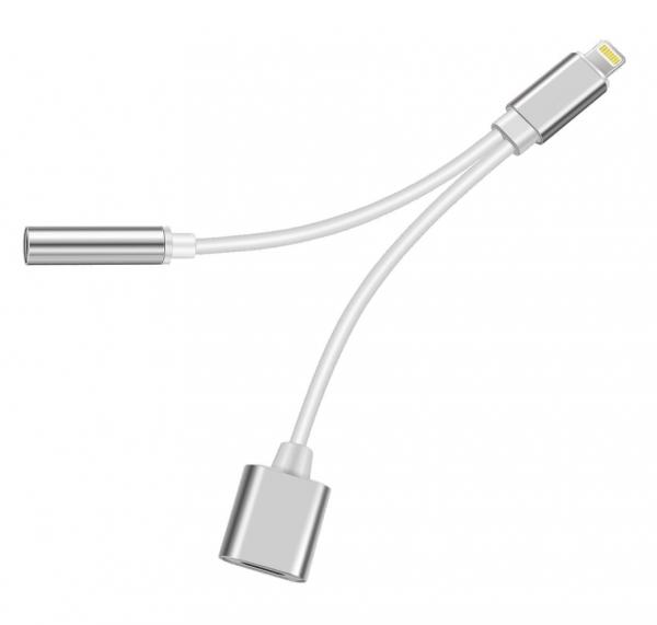 Bea-fon Felixx Premium - Lightning Adapter - Lightning männlich bis Mini-Stecker, Lightning weiblich