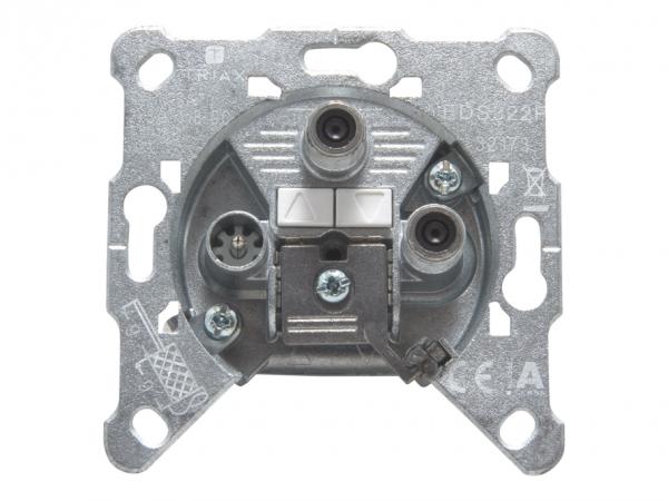 Triax EDS 322 F - Ausgang - F-Stecker, IEC-Anschluss
