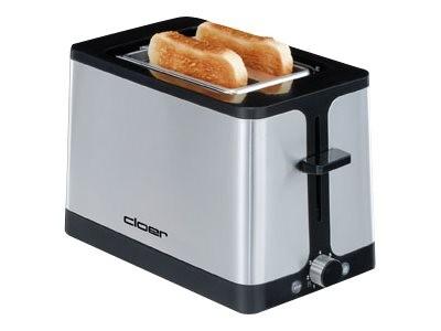 Cloer 3609 - Toaster - 2 Scheibe - 2 Steckplatz
