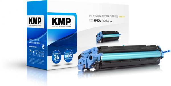 KMP H-T82 Toner cyan compatible - Kompatibel - Tonereinheit
