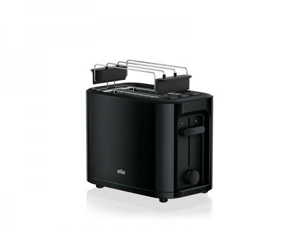 Braun PurEase HT3010 BK - Toaster - 2 Scheibe