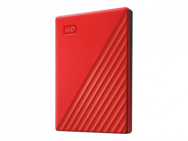 WD My Passport WDBYVG0020BRD - Festplatte - verschlüsselt - 2 TB - extern (tragbar)
