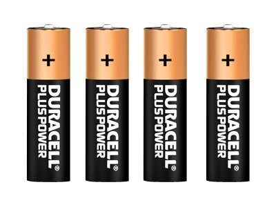 Duracell Plus Power MN1500 - Batterie 4 x AA-Typ