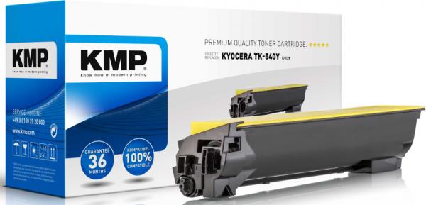 KMP Toner Kyocera TK-540Y/TK540Y - Wiederaufbereitet - Kompatibel