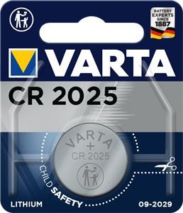 Varta Electronics - Batterie CR2025 - Li - 170