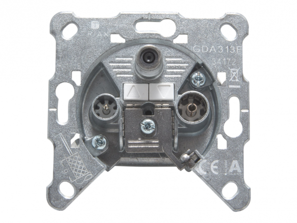 Triax GDA 313 F - Ausgang - F-Stecker, IEC-Anschluss