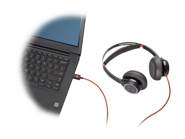 Poly Blackwire 7225 - Headset - On-Ear - kabelgebunden