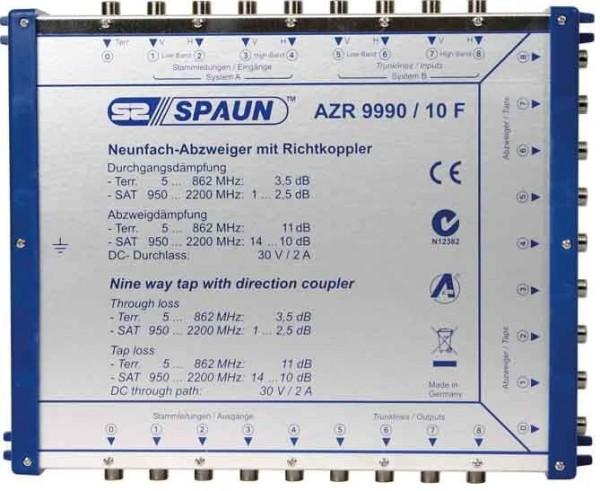 SPAUN - ELECTRONIC Spaun AZR 9990/10 F - Kabelsplitter - 5 - 2200 MHz - Blau - F - 264 mm - 211 mm