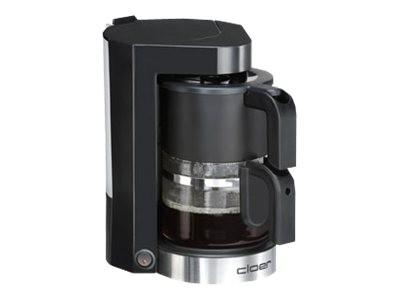 Cloer 5990 black - Kaffeemaschine - 5 Tassen