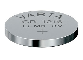 Varta Electronics - Batterie CR1216 - Li - 25