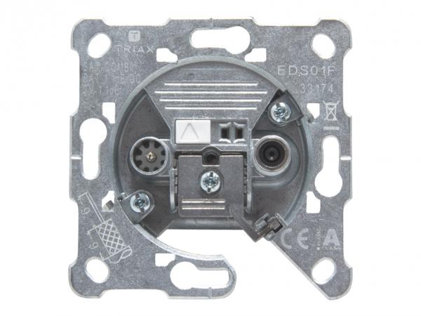 Triax EDS 01 F - Ausgang - F-Stecker, ICE-Anschluss