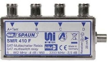 SPAUN - ELECTRONIC Spaun SMR 410 F - 5 - 2200 MHz - Silber - F - 102 mm - 54 mm - 22 mm